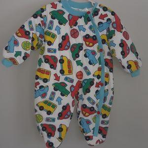 ICZ Baby Long Sleeve winter Romper Jumpsuit Bodysu